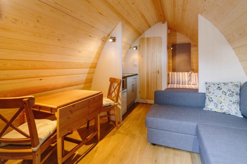 Camping Pods Langstone Manor