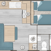 Sample layout of Dartmoor Super holiday home