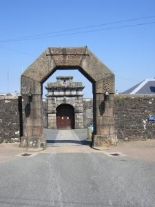 Image of Dartmoor Prison Museum Entrance by Brian Henley and is licensed for reuse under the Creative Commons Attribution-ShareAlike 2.0 license